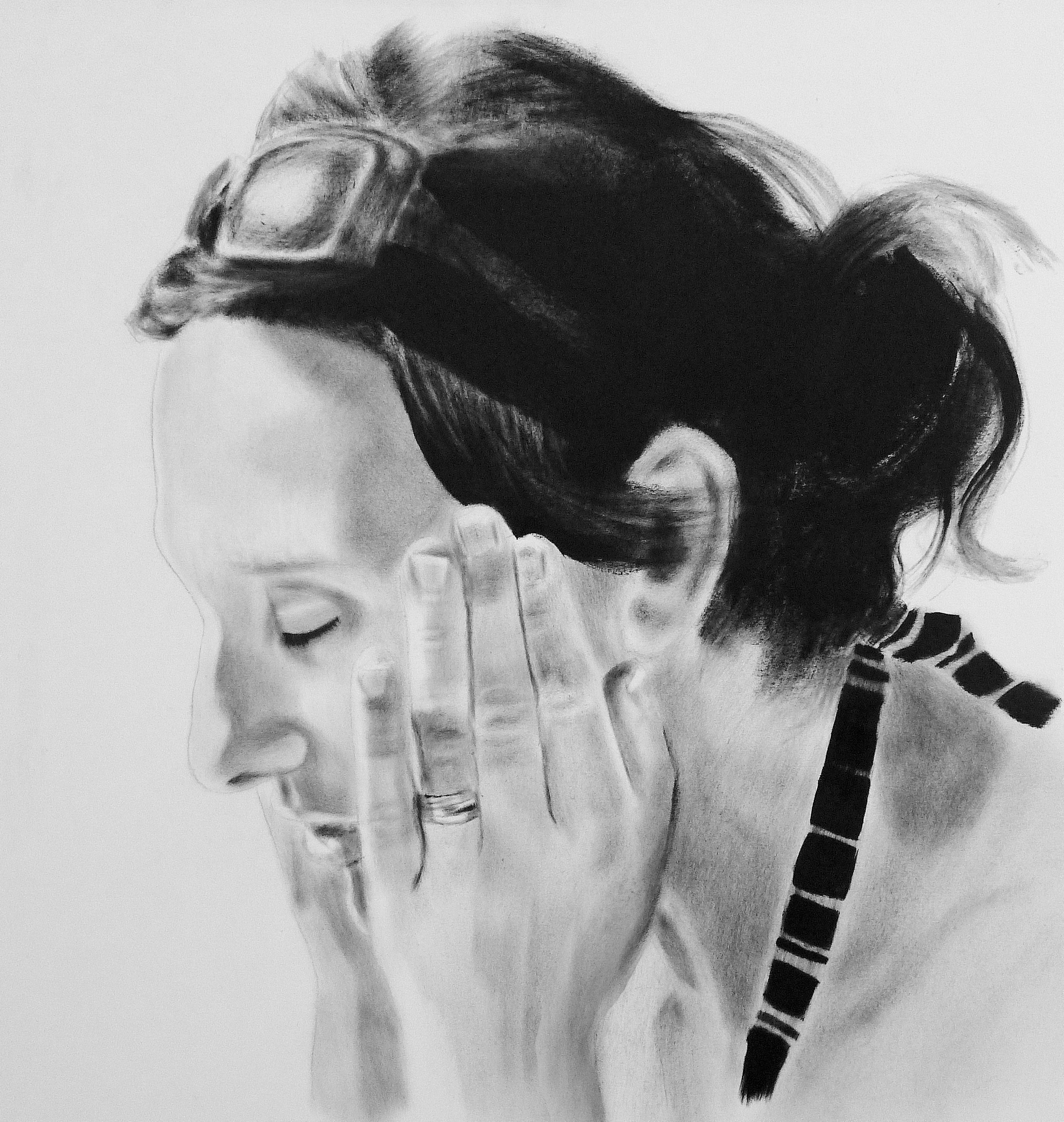Dry Brushing technique for portrait painting   Art   Dry