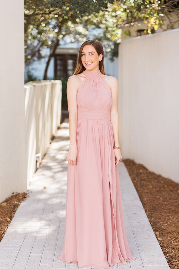 Bridesmaid Dress by Azazie via Little Mrs. Particular | Wedding ...
