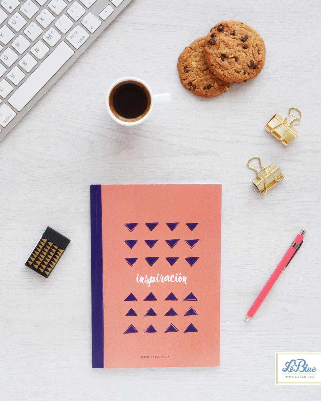 Cuadernos para organizar tu día a día. A la venta en www.leblue.es