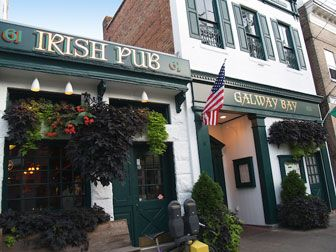 The Galway Bay Irish Pub Is Located On Maryland Avenue In Downtown Annapolis A Beautifully