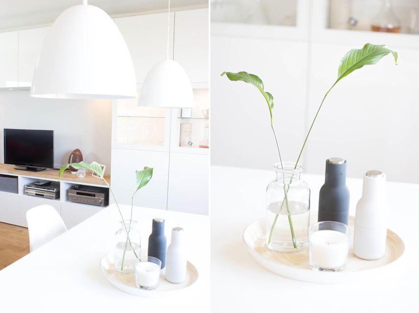 Pimp my Besta - Besta mit Holzplatte verschönern Ikea hack, Ikea - esszimmer im wohnzimmer