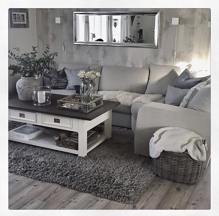 Living Room Design by cecilia lee ewen | Living room grey ...