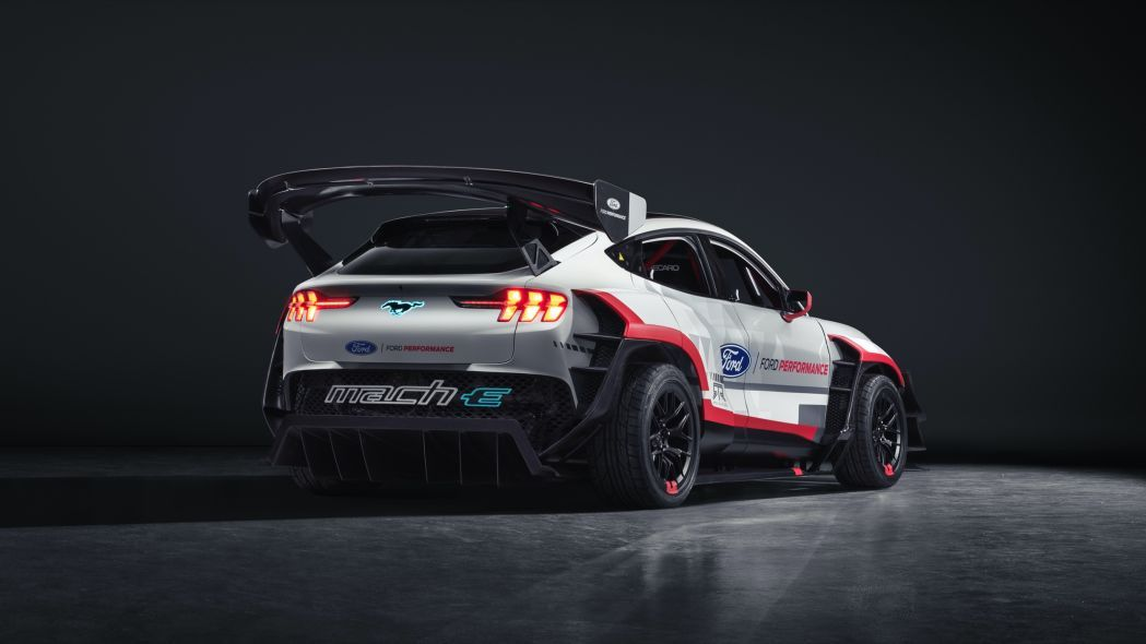 Ford Mustang Mach E 1400 Electric Track Drift Car Revealed In