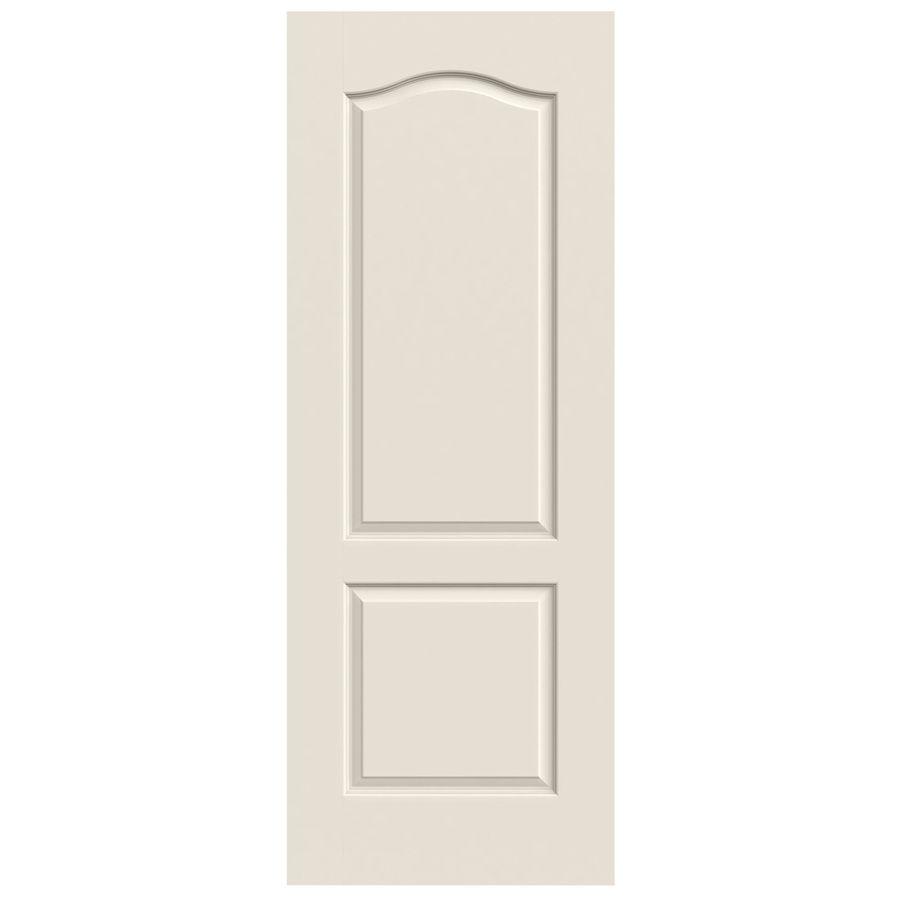 Jeld wen princeton primed panel arch top hollow core molded composite slab door common in  actual also rh pinterest
