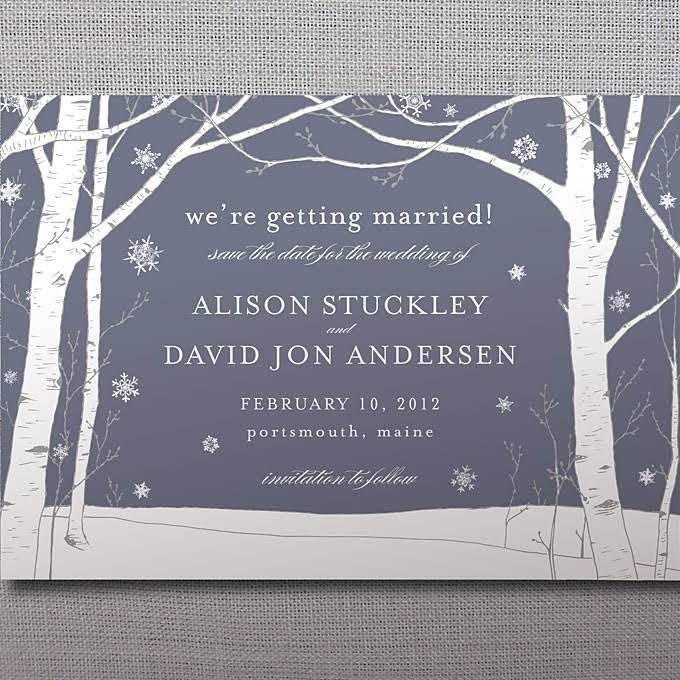 Save-The-Date Cards Invitations-And-Stationery | Brides.com