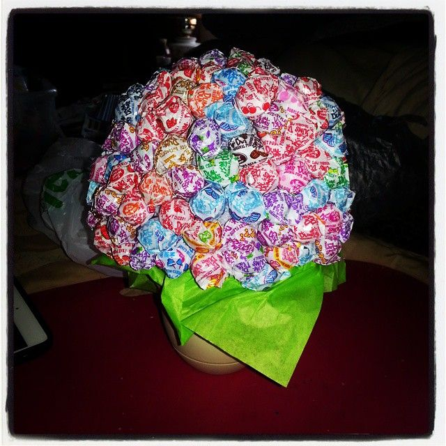 dum dum flower pot for camille u0026 39 s candyland theme birthday party