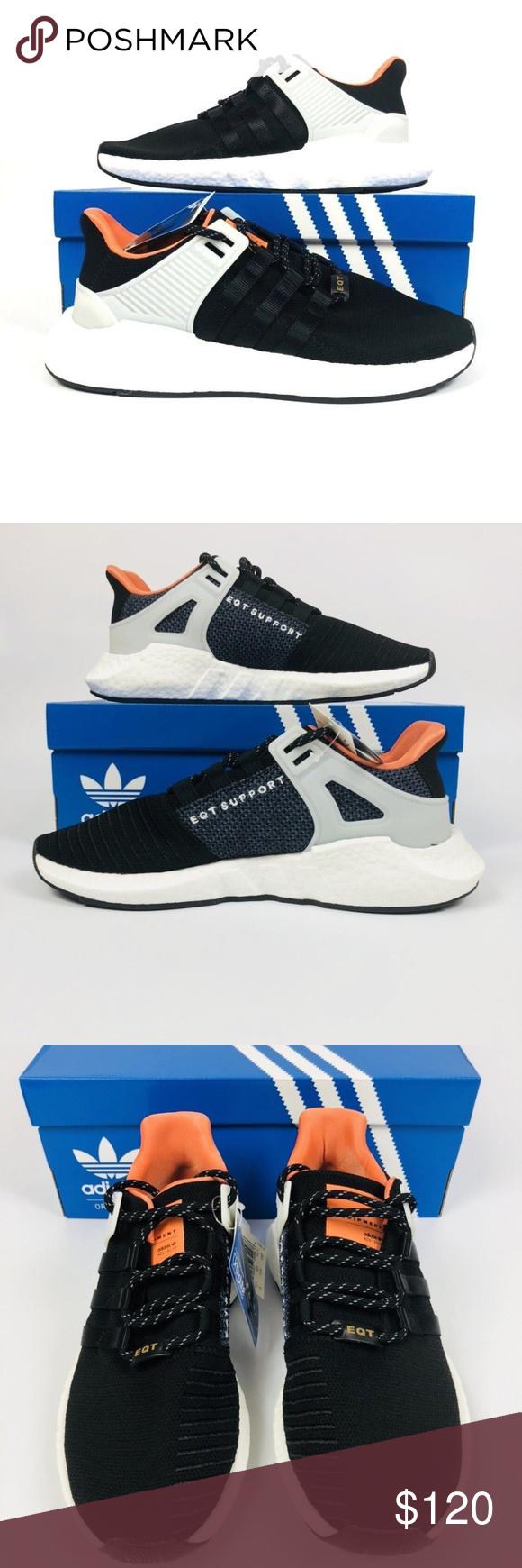 cdf75bded32f Adidas Originals Eqt Equipment Support Adidas Originals Eqt Equipment  Support 93-17 ADV Boost Black