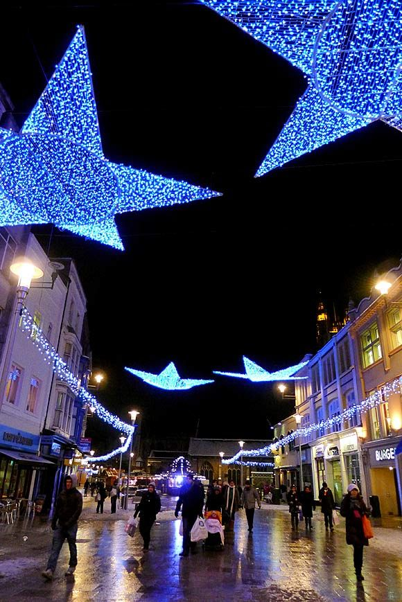 Cardiff Christmas Lights Holidays Best