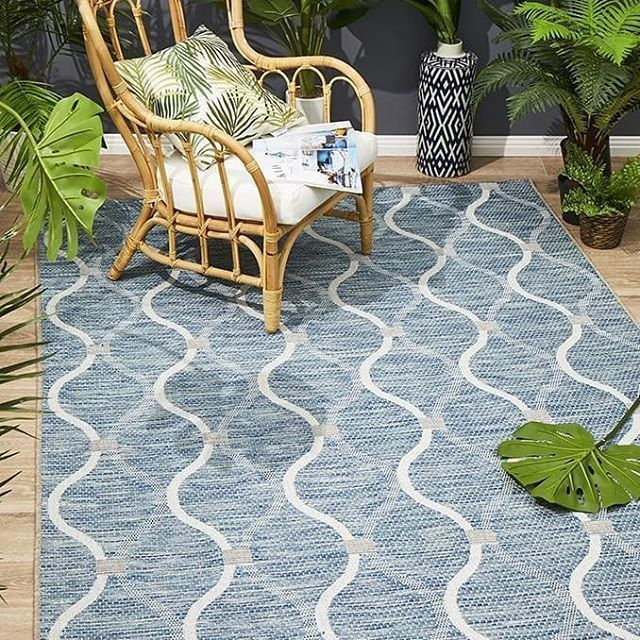 New The 72 Best Home Decor Ideas Today With Pictures Diy Courtyard Portico Blue Rug Material Polypropylene Pile Height 6mm Blue Rug Trellis Rug Rugs