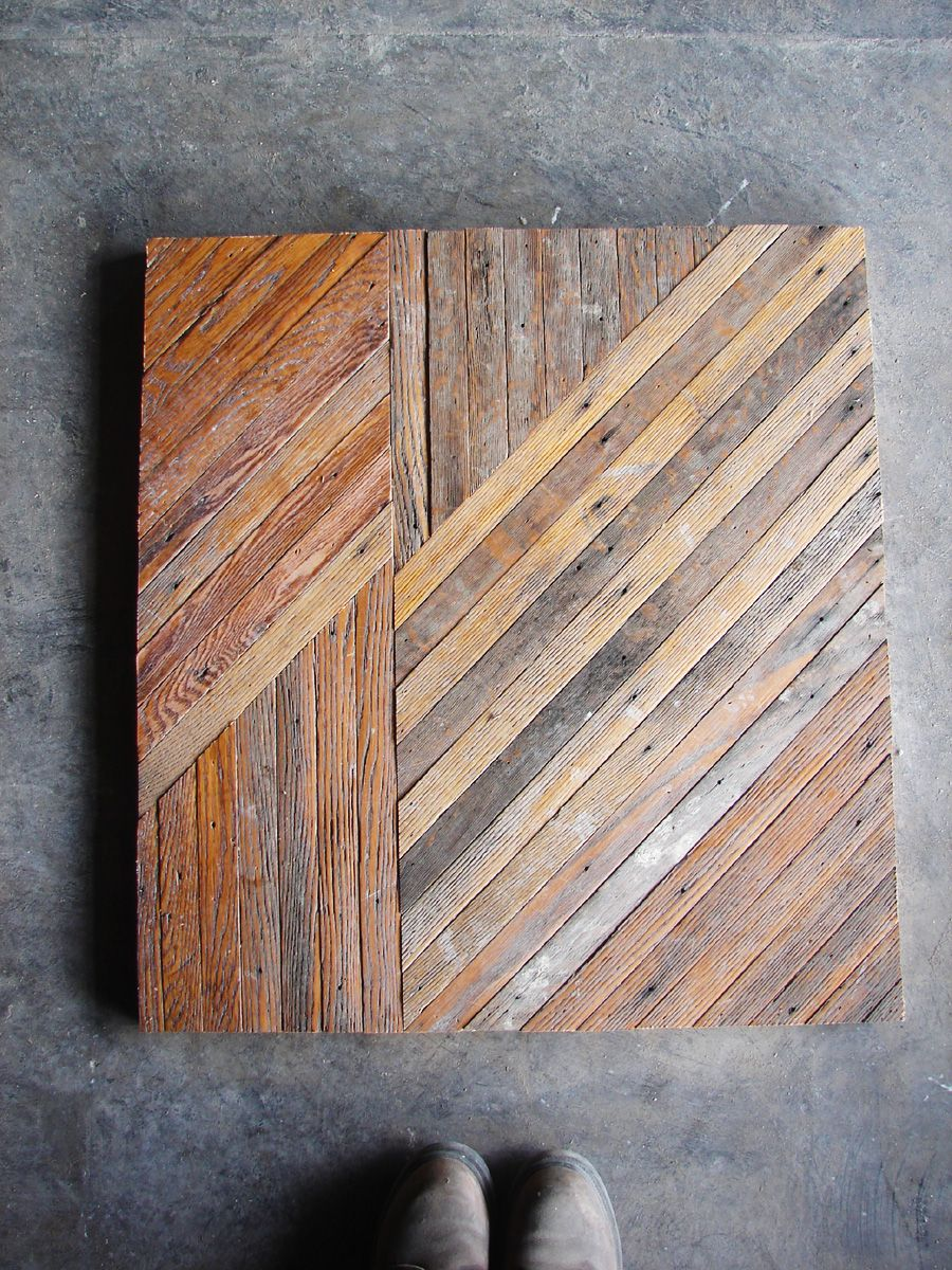 Table Top Reclaimed Lath