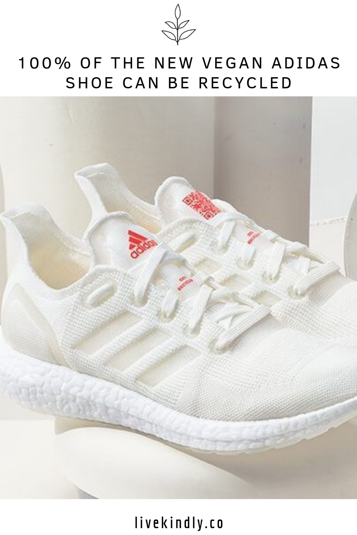 Sacrificio su Cervecería  100% of the New Vegan Adidas Shoe Can Be Recycled | Adidas shoes, Recycled  shoes, Vegan sneakers