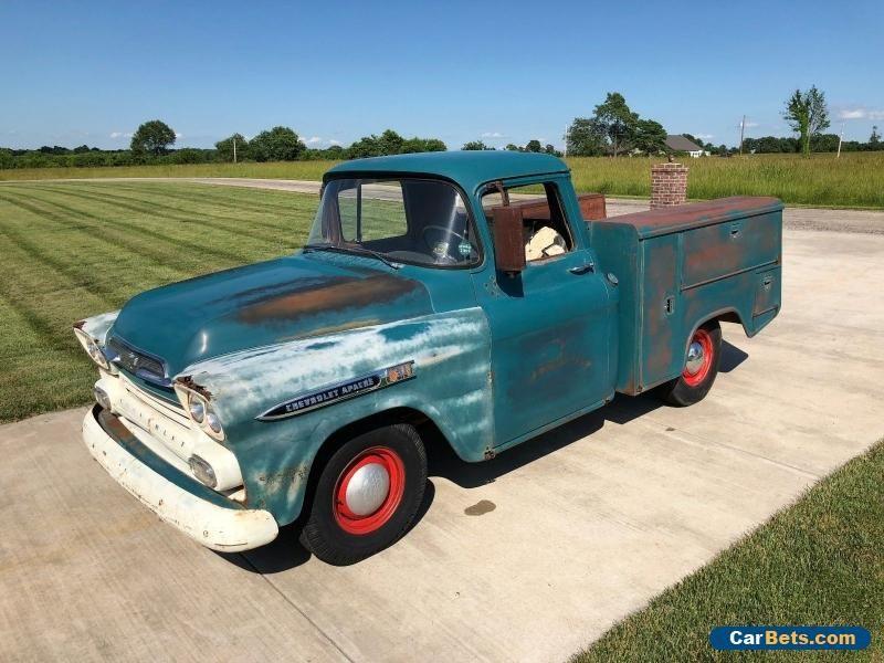 Car For Sale 1959 Chevrolet Apache