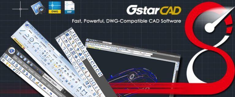 GstarCAD 2022 Crack + Torrent 100% Working [2D&3D]