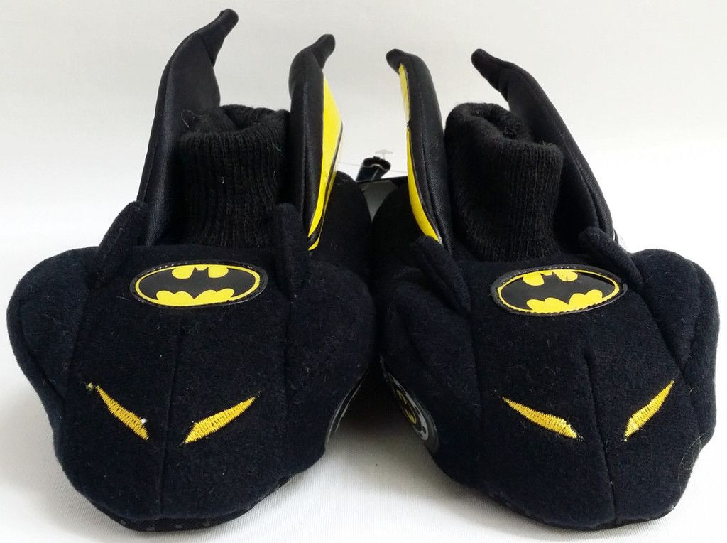 Kids Boys Stride Rite Black Yellow Batman Batmobile Warm House ...