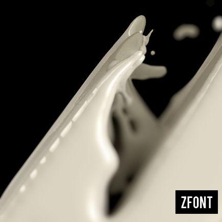 ZFONT by Riccardo Mucelli, via Behance