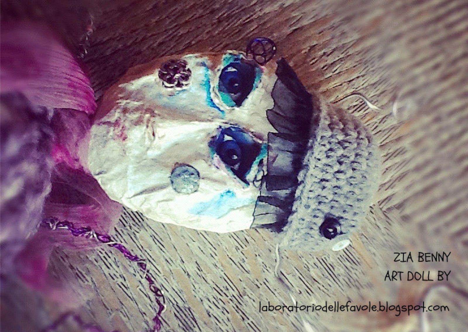 Laboratorio delle Favole- Design and Decor: Art Doll - Zia Benny
