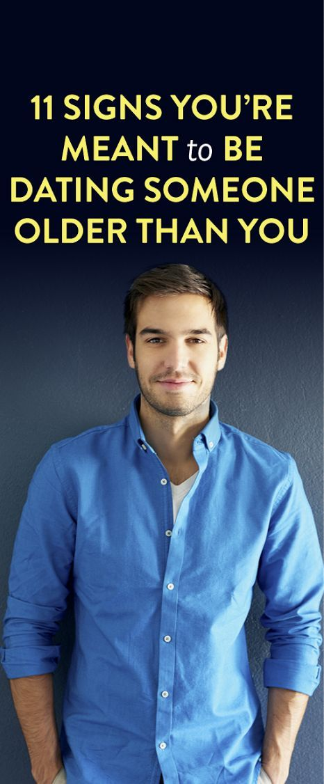 Dating someone older than you quotes