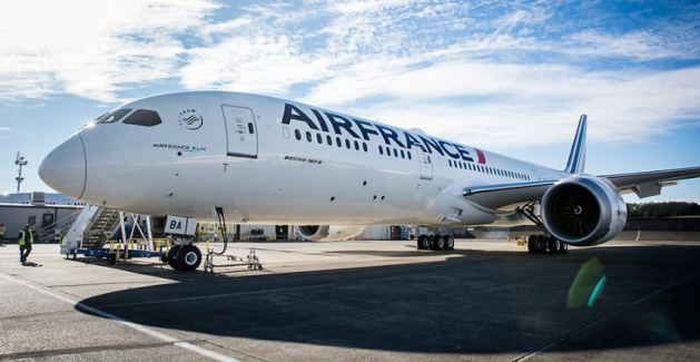 787 Dreamliner France airlines, Airline booking, Air france