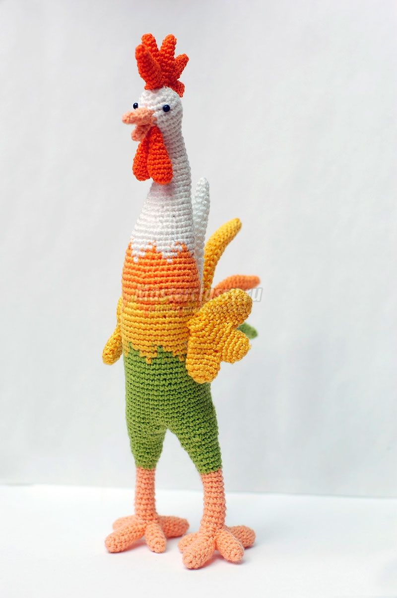 tejer amigurumi crochet | gallo amigurumi | Pinterest | Rusas ...