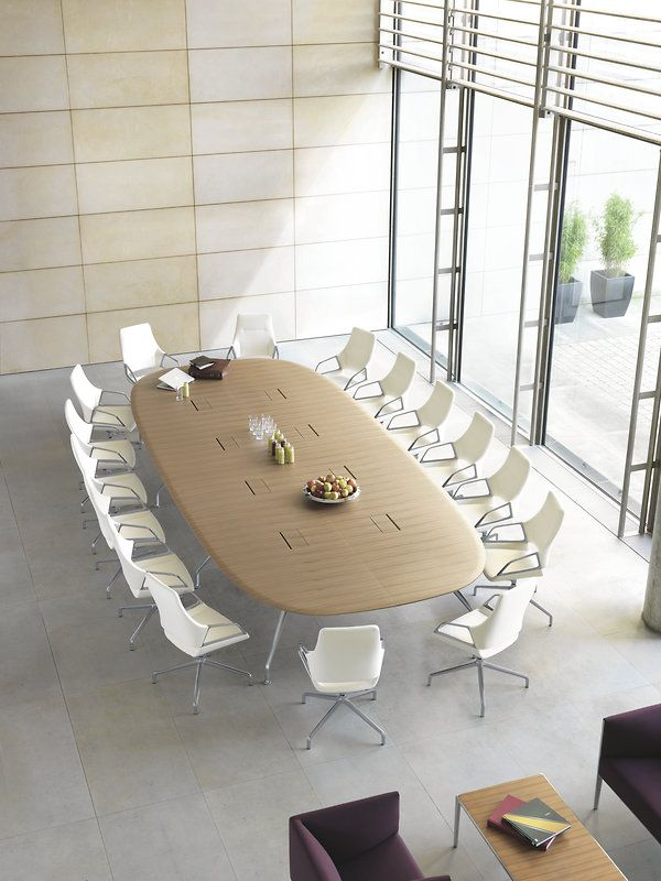 Graph Conference Chair And Conference Table Design By Jehs Laub By Wilkhahn Graph Conference Table Design Round Conference Table Conference Table