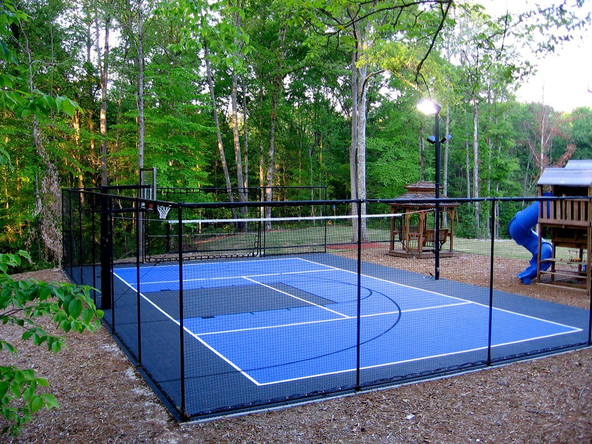 bring your favorite court games home basketball 4 square pickle
