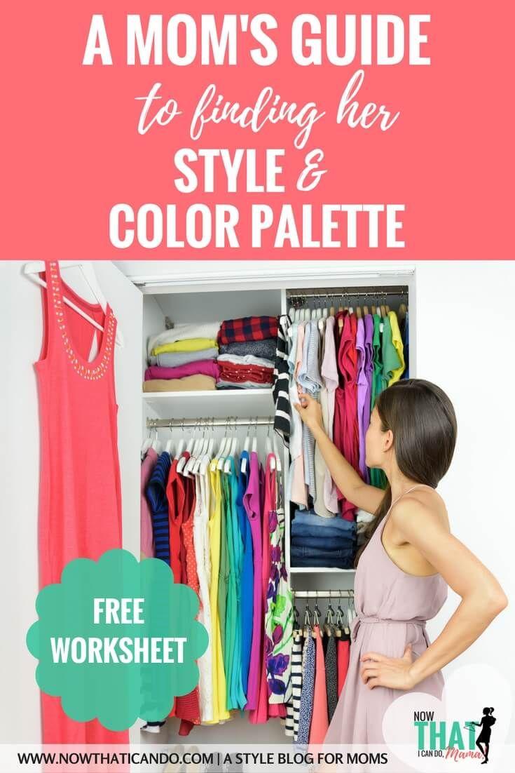 Die elastische Garderobe (Teil 2): Ihre Stil- und Farbpalette (+ kostenloses druckfähiges PDF-Arbeitsblatt)   Easy Fashion für Mütter