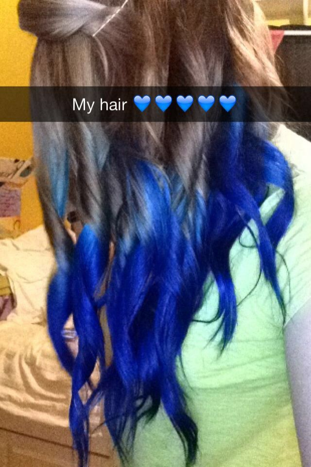 Hair Dip Dye, my experience with Splat brand's Blue Envy. I'm just ...