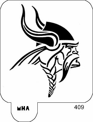Black And White Minnesota Vikings Logo Stencil Free Download Oasis