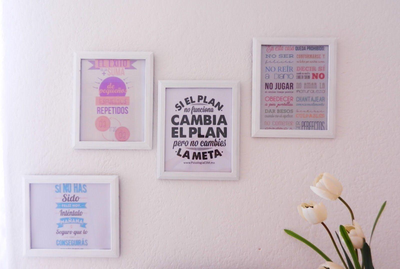 Ideas para decorar tu cuarto con cuadros buscar con - Como decorar una pared con cuadros ...