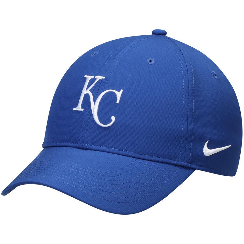 buy popular 739aa 4a298 Kansas City Royals Nike Legacy 91 Performance Adjustable Hat - Royal