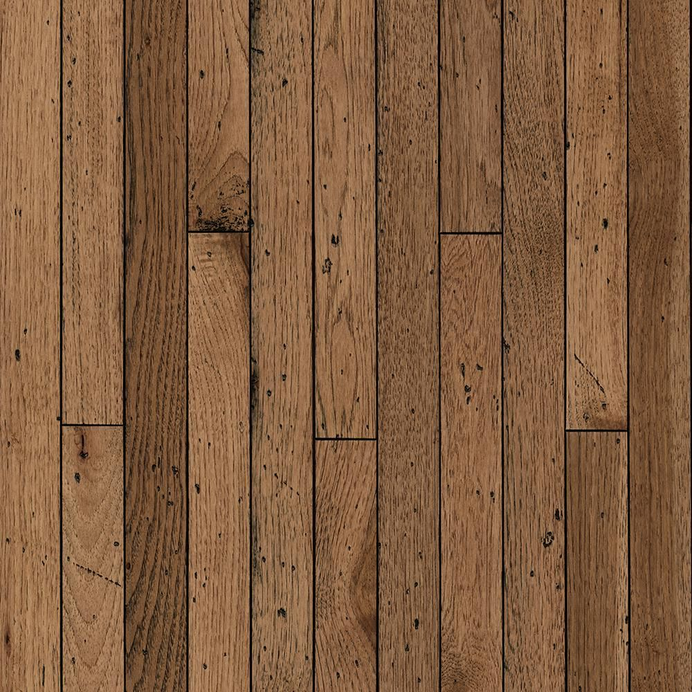 Bruce Vintage Farm Hickory Antique Timbers 3 4 In T X 2 1 4 In W X Varying L Solid Hardwood Flooring 20 Sq Ft Case Svf24at The Home Depot In 2020 Solid Hardwood Floors