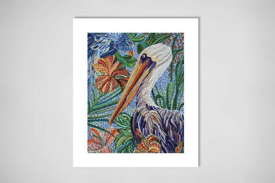 "Saatchi Online Artist: Erika Pochybova-Johnson; Acrylic, Painting ""Whispers"""