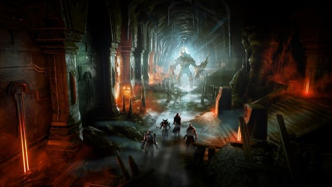 Download 1920x1080 Hd Wallpaper Dragon Age 2 Tunnel Monster Art Desktop Backgrounds Hd Dragon Age Inquisition Dragon Age Wallpaper Dragon Age