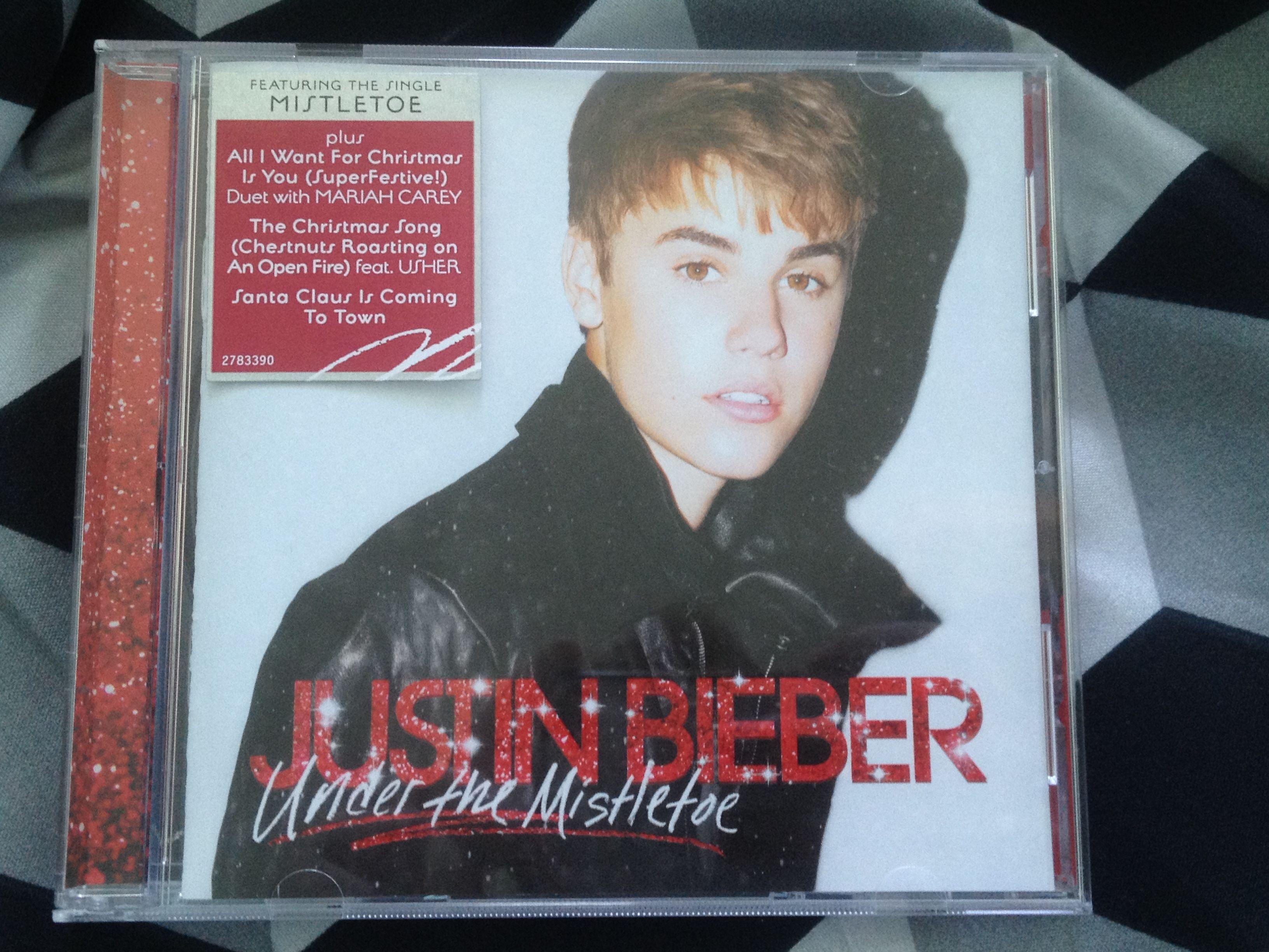 Justin Bieber - Under the Mistletoe CD Album | Cd | Pinterest | Cd album