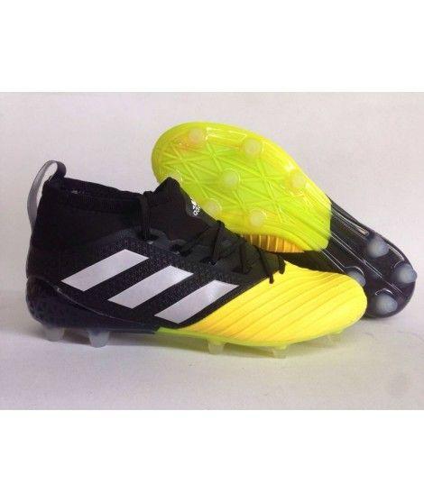 various colors ebd23 d002d Adidas Ace 17.1 Primeknit Leather Firm Ground Muži Kopačky Žlutý Černá Bílá