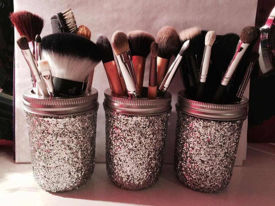25 DIY Makeup Storage Ideas That Will Save Your Time ... on Decorative Sconces Don't Need Electric Toothbrush id=64592