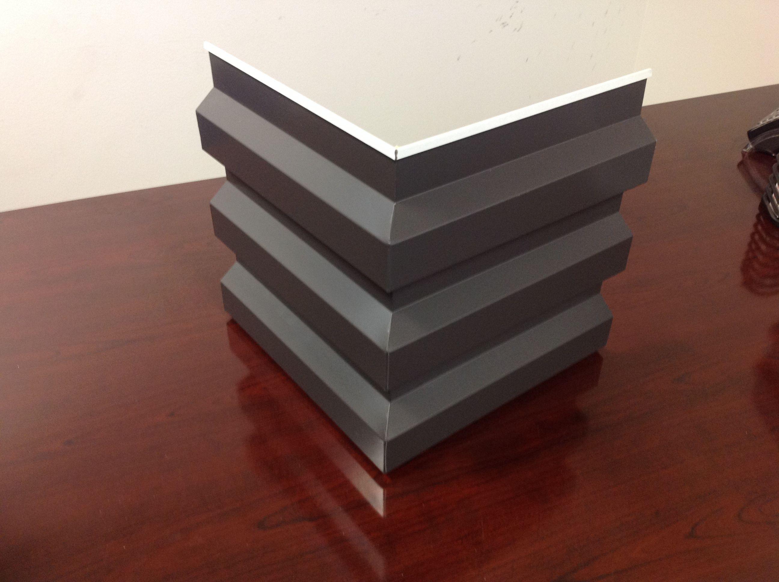Mitered Metal Corners Metal Panels Architecture Corregated Metal Metal Panels