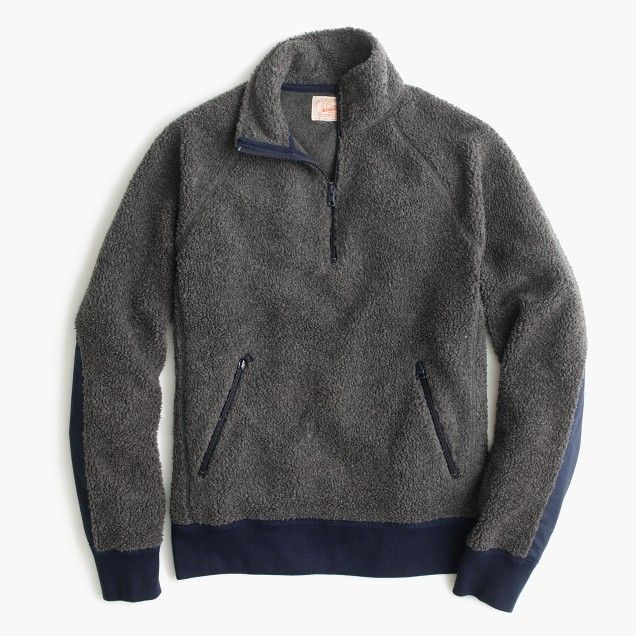 Grizzly fleece half-zip pullover | It'd be nice to have ...