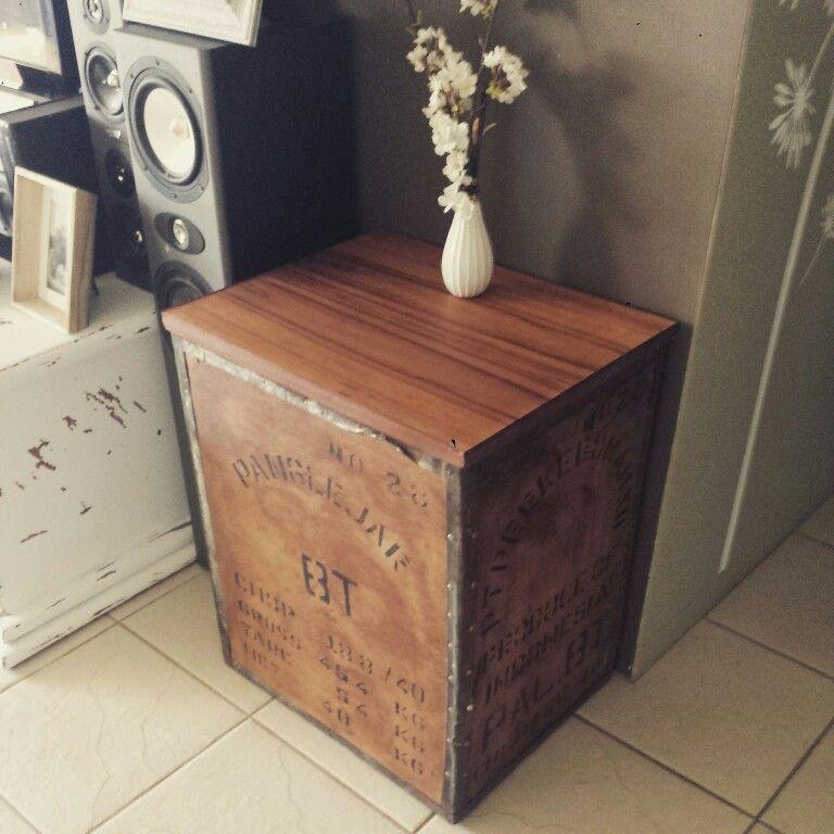 Upcycle Tea Box Coastal Decorating Modern Coastal