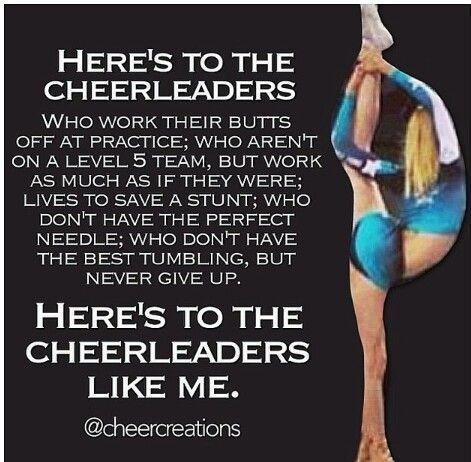 Cheerleading Quotes Competition Cheerleading