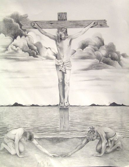 Pencil Drawings Religious Art