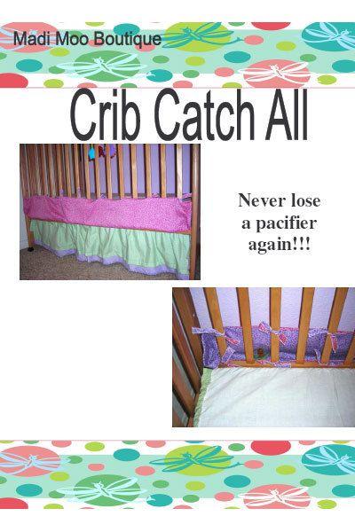 Crib Catch-All | Cribs, Catch, Decor