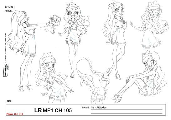 Princess Iris Is The Main Protagonist Of Lolirock She Is The