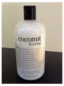 Philosophy coconut frosting shower gel- fabulous!