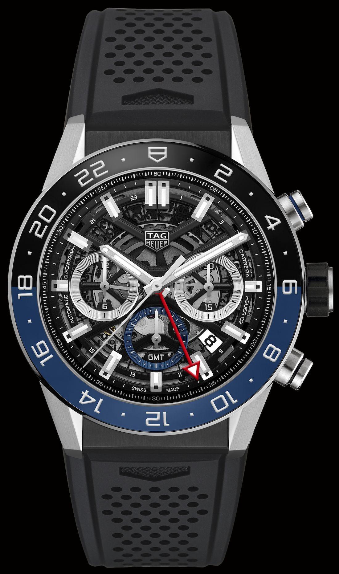 e56ccc1212b9d TAG Heuer Carrera Chronograph GMT Watch  baselworld2018  baselworldabtw