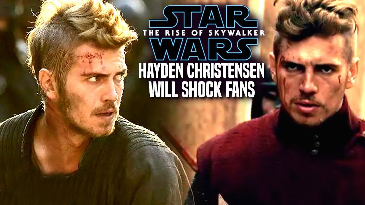 The Rise Of Skywalker Hayden Christensen News Will Shock Fans Star Wars Episode 9 Youtube Star Wars Episodes Skywalker Hayden Christensen