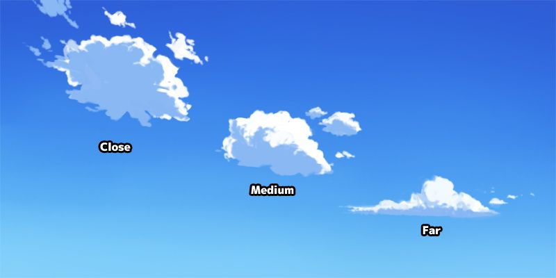 Shape Of Anime Cloud Cloud Tutorial Cloud Drawing Digital Art Tutorial