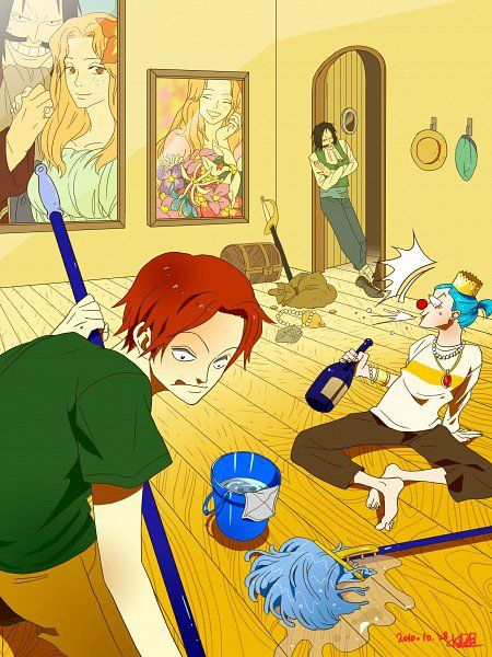 better cheap for discount details for Gold.D Roger,Shanks & Baggy | One piece images, Anime, One ...