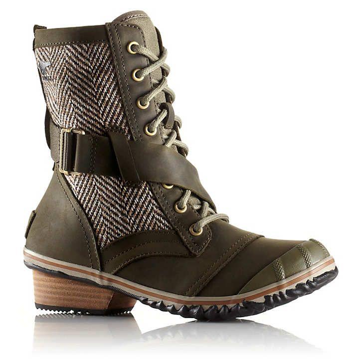 Women's Slimboot™ Lace Herringbone Boot - Nori - 1641191