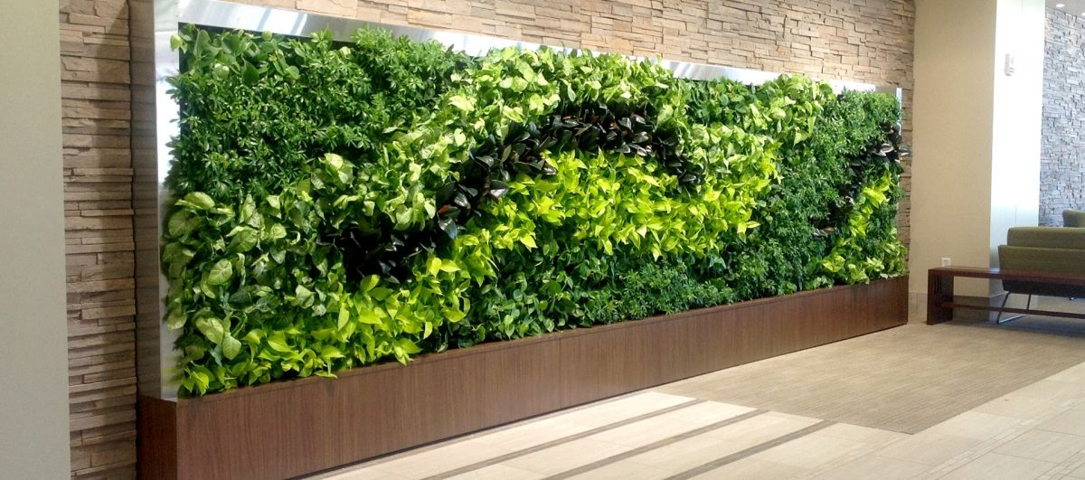 Pin de David Quesada en Jardines verticales   green walls   living - jardineras verticales